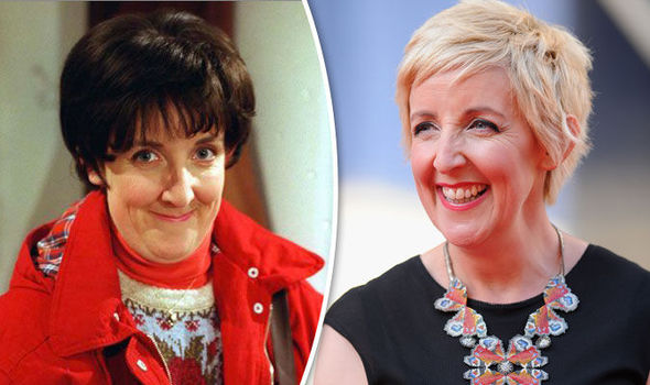 Hayley Cropper and Julie Hesmondhalgh