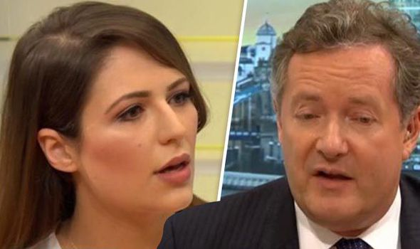 Piers Morgan slammed in sexism row