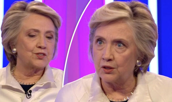 Hillary Clinton's appearance on The One Show