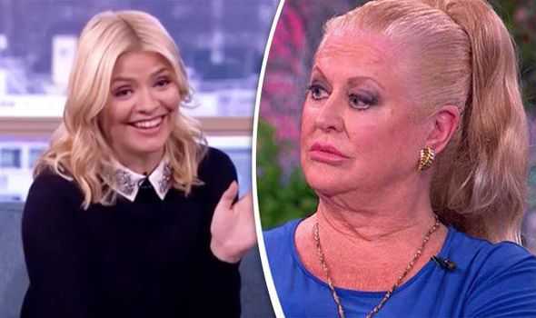 Holly Willoughby and Kim Woodburn