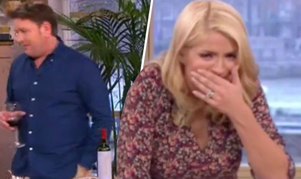 James Martin and Holly Willoughby