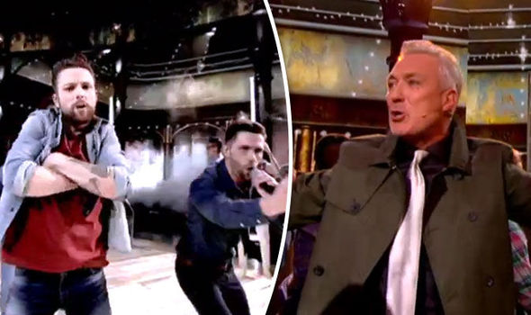 Martin Kemp performs in Let It Shine