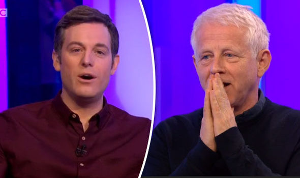 Matt Baker Richard Curtis The One Show