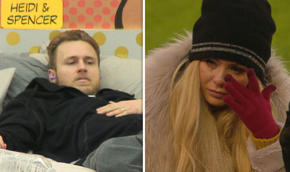 Nicola McLean and Spencer Pratt CBB