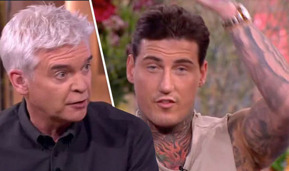 Phillip Schofield and Jeremy McConnell