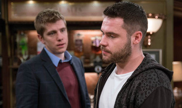 Robert Sugden and Aaron Dingle