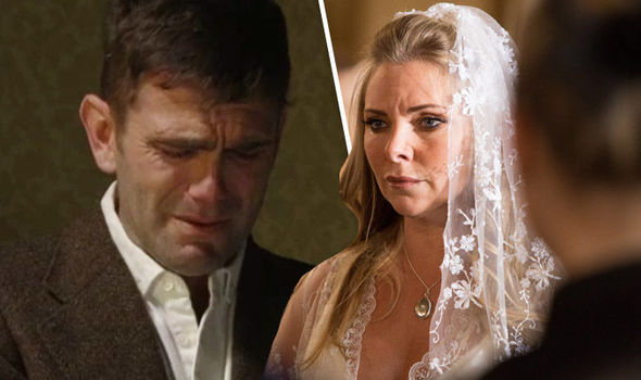 Jack Branning and Ronnie Mitchell