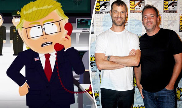 South Park Donald Trump Trey Parker Matt Stone