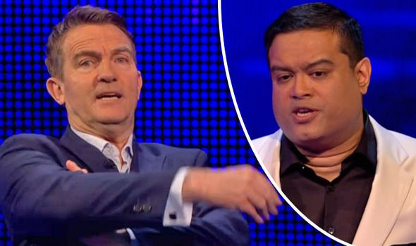 The Chase Bradley Walsh calls Paul Sinha RUDE for awkwardly belittling contestant