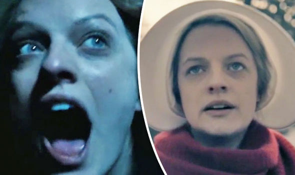 The Handmaid's Tale finale Elisabeth Moss CRIED as Offred story ends in TENSE cliffhanger