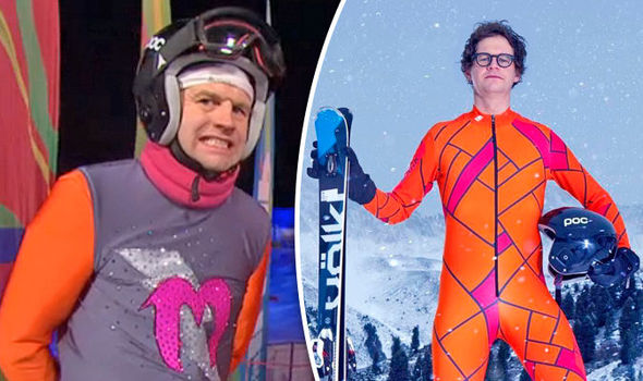 The Jump 2017 Mark Dolan SLAMMED by viewers for Brexit joke