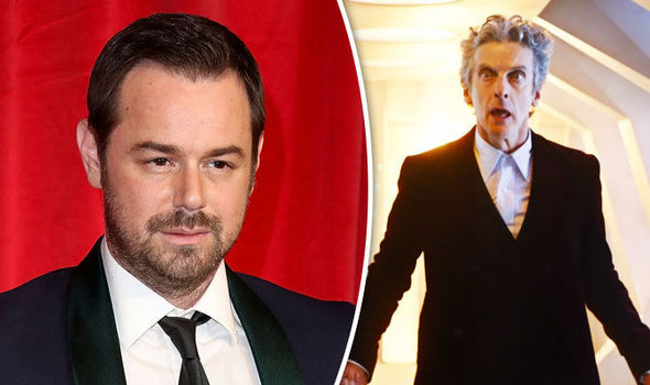 Danny Dyer and Peter Capaldi