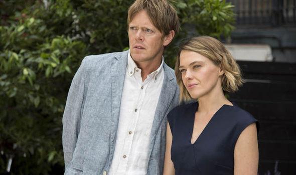 Kris Marshall and Sally Bretton