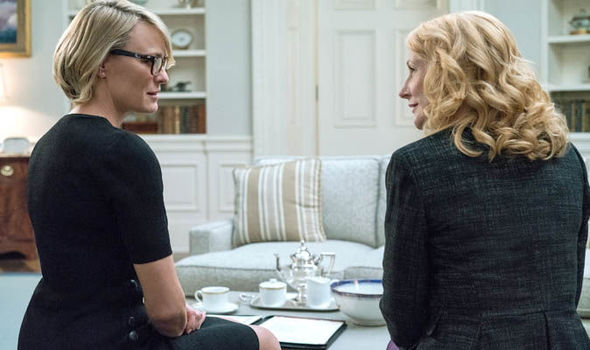 House of Cards: Jane Davis and Claire Underwood