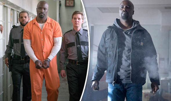 Luke Cage in prison