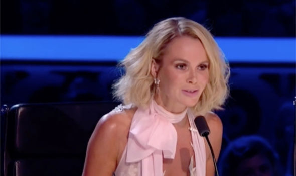 Amanda Holden was branded a dog on Britain's Got Talent