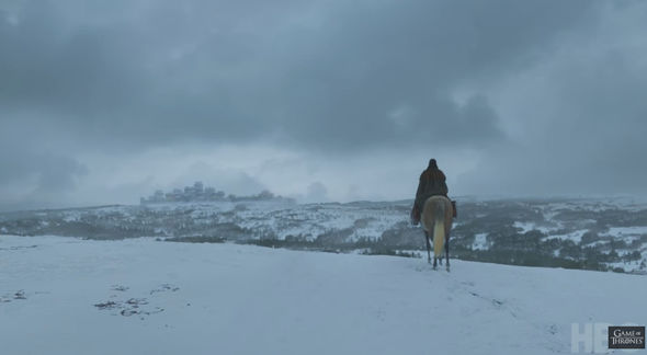 Arya Stark is almost at Winterfell