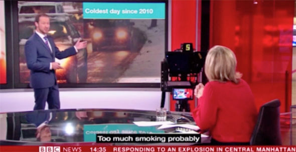 BBC News blunder Guest's Keith Chegwin 'too much smoking ...