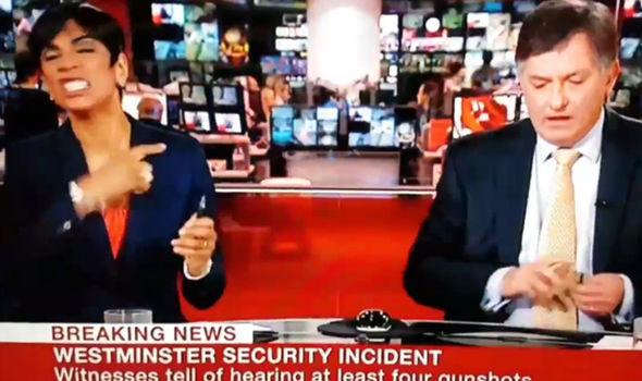 London terror attack - BBC News presenter makes ...