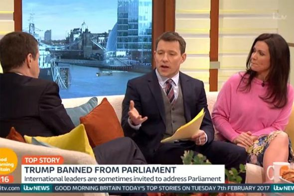 Ben Shephard and Susanna Reid speak to Alastair Campbell