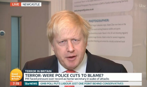 Boris Johnson was grilled on Good Morning Britain