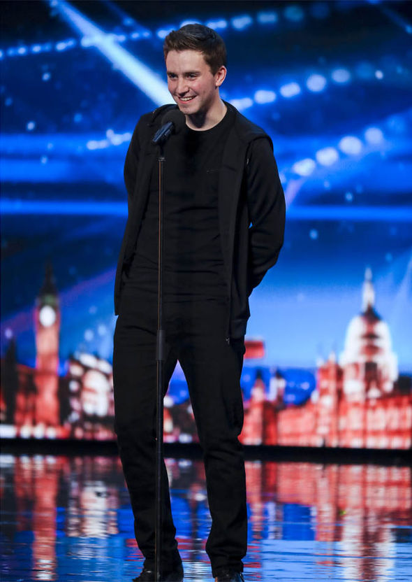 David Gearney on Britain's Got Talent