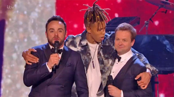 Britain's Got Talent WINNER 2017 Ant and Dec crown Tokio Myers first place