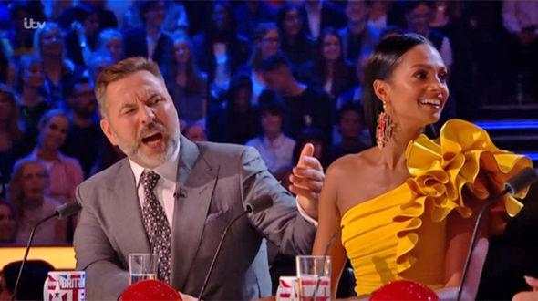 Britain's Got Talent semi-final 2017 David Walliams shouts at Simon Cowell