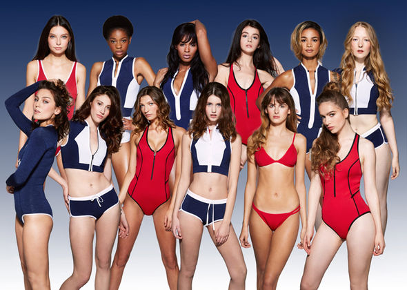 Britain's Next Top Model group shot