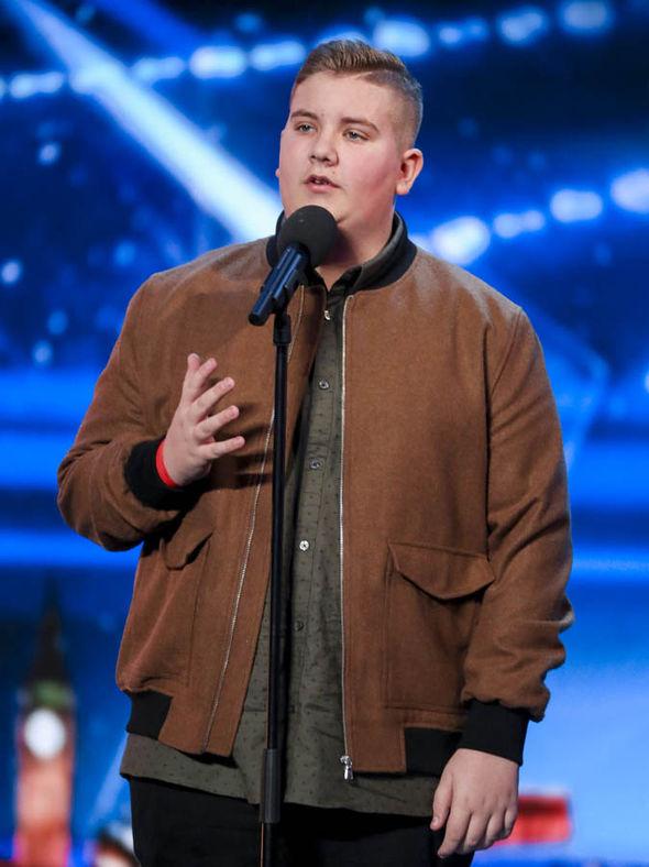 Kyle Tomlinson won over judges on Britain's Got Talent