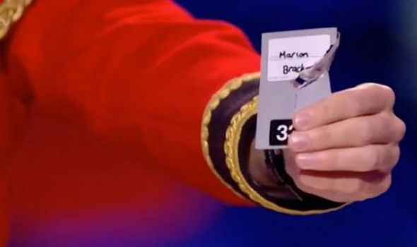 Richard Jones picks the right card on Britain's Got Talent