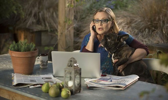 Carrie Fisher in Catastrophe