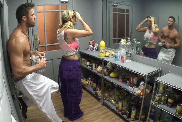 Celebrity Big Brother: Sarah Harding and Chad ramp up ...