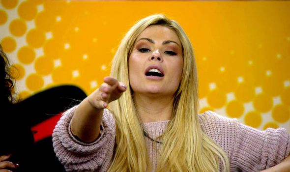 Nicola McLean and Kim Woodburn lash out at each other on Celebrity Big Brother