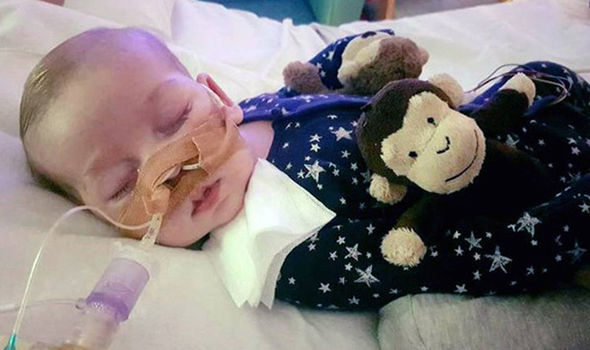 Baby Charlie Gard suffers from a rare genetic condition