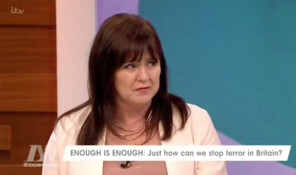 Coleen Nolan hit out at extremism in Britain on Loose Women