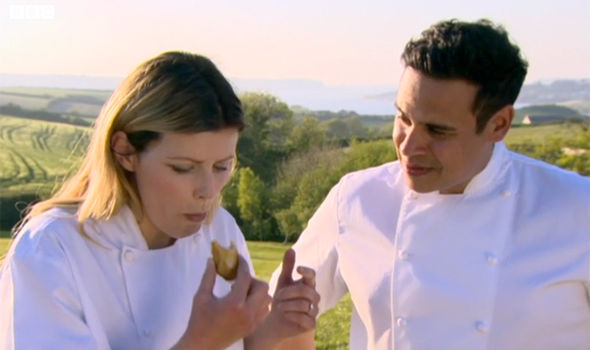 Ellie Harrison finally overcame her dislike of oysters on Countryfile