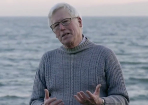 Countryfile John Craven nipples jumper BBC