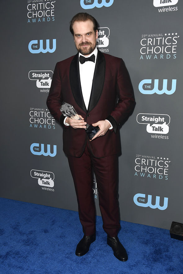 Critics' Choice Awards 2018:  David Harbour