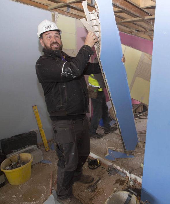 Nick Knowles in DIY SOS