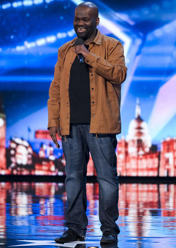 Daliso Chaponda on Britain's Got Talent