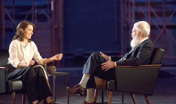David Letterman will speak to Tina Fey in an in-depth interview