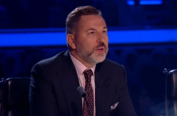 David Walliams close to tears