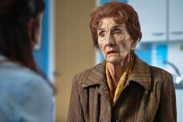 Dot Cotton has been in the soap since 1985