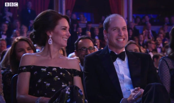 Duke and Duchess of Cambridge at the BAFTAs