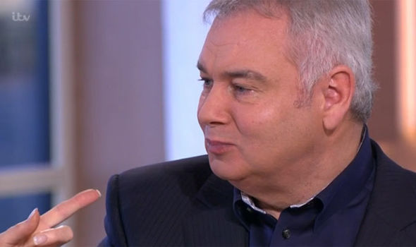 Eamonn Holmes chews loudly on This Morning