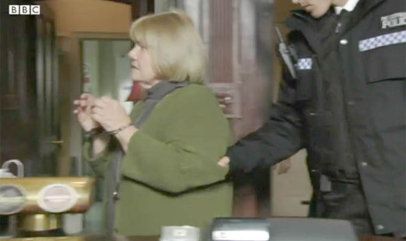 Aunt Babe is arrested on EastEnders