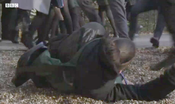 Shakil Kazemi gets into a brutal fight for EastEnders