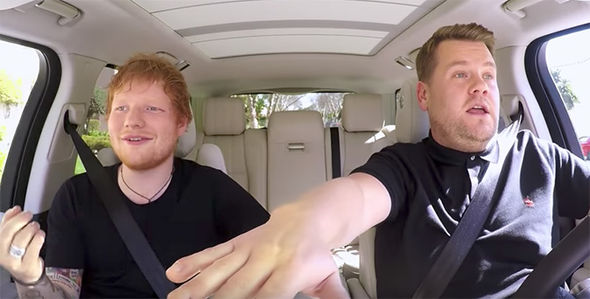 Ed Sheeran James Corden