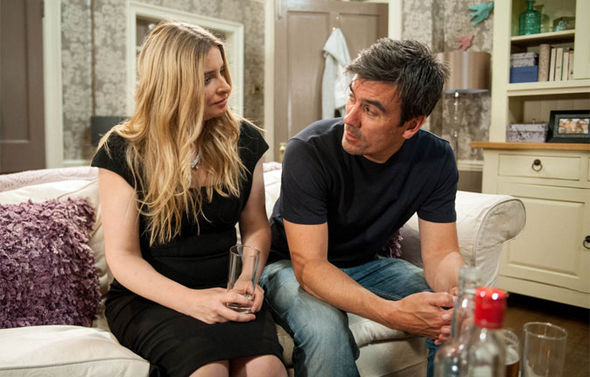 Emmerdale Cain and Charity Dingle